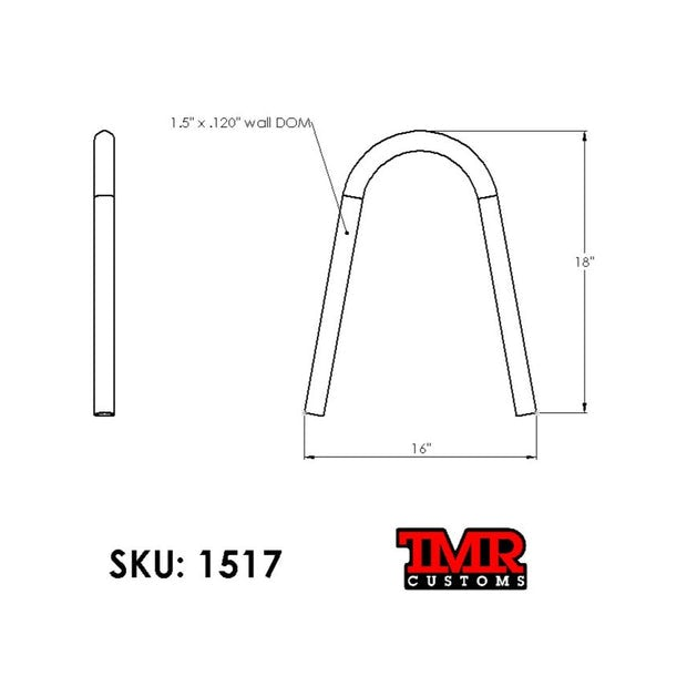 "1.5"" Universal Shock Hoop Kit"