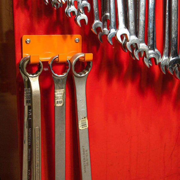 3 Piece Wrench Organizer Rack