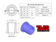 Tie Rod End Inserts - Chevy 1 Ton Taper