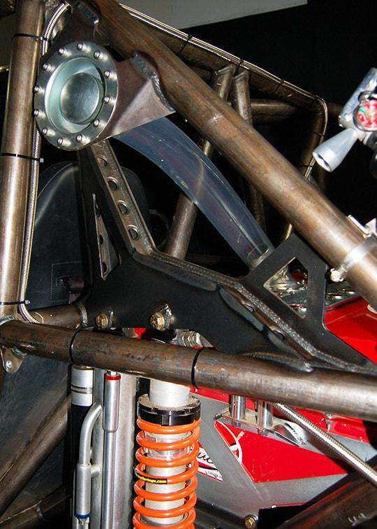 THE ARCHETYPE Chassis Side Rear Shock Brackets