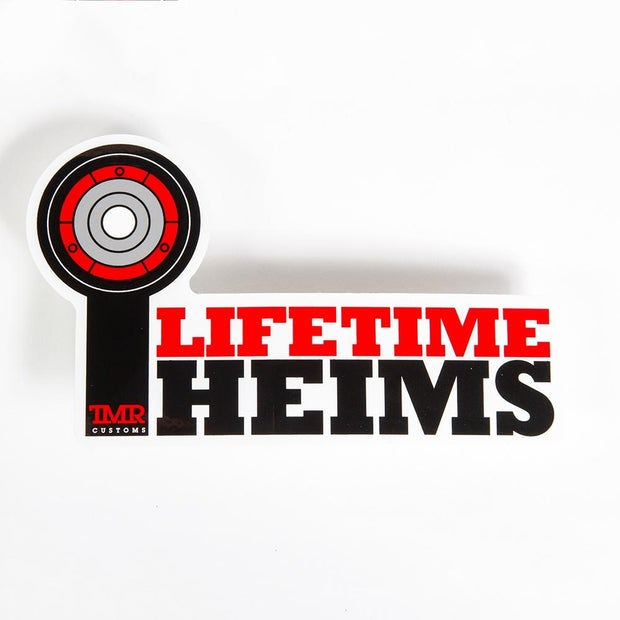 Lifetime Heims Decal
