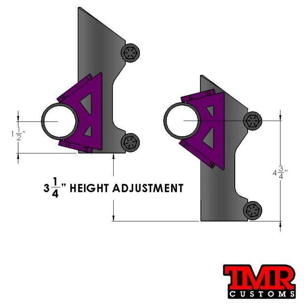 Bump Stop Tube Chassis Mount
