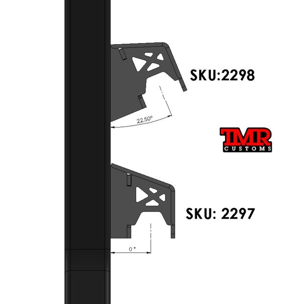 Frame Mount Upper Link Bracket (0 or 22 degree offset)