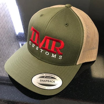 TMR Customs OD Green/Desert Tan Trucker Hat