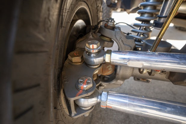 17+ Dana 60 Weld On High Steer Arms - Ford Super Duty