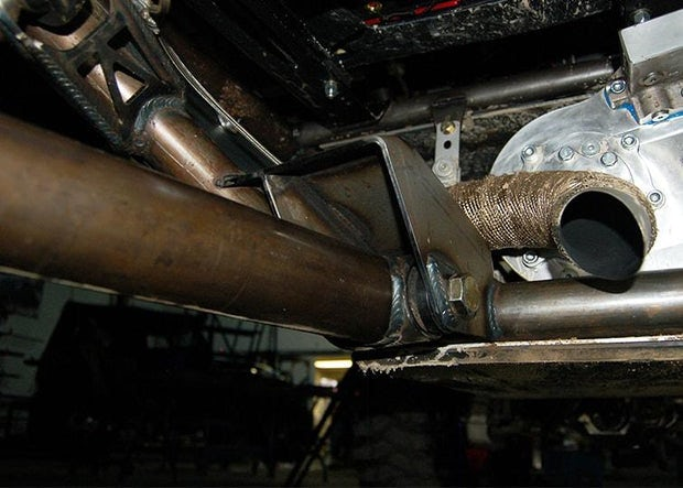 "THE ARCHETYPE Trailing Arm Chassis Side Link Brackets - 4"" WIDE"